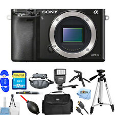 Sony Alpha a6000 Mirrorless Digital Camera Body (Black)!! PRO BUNDLE BRAND NEW!!
