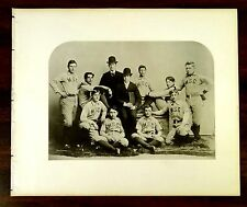 1895 VARSITY BASEBAL TEAM MAINE STATE COLLEGE 2 Original Antique Prints