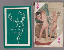 VINTAGE 1960's ? BOXED PACK OF GLAMOUR PLAYING CARDS 2 JOKERS