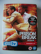 Prison Break - Series 2 Vol.1 (DVD, 2007, 3-Disc Set, Box Set)