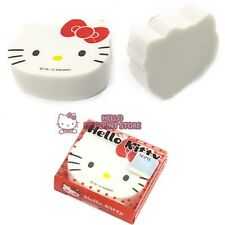 Hello Kitty Face Diecut Eraser : Red