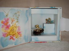 L de LOLITA LEMPICKA EDP 0.17 OZ, 5 ML. MINI FRAGRANCE IN A BOX WITH A RING CUTE