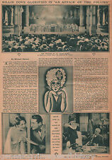 Movie Review Of An Affair Of The Movie Billy Dove 1927