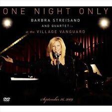 BARBRA STREISAND One Night Only At The Village Vanguard CD/DVD NEW NTSC Region 0