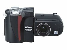 Vintage Classic Nikon Coolpix 5400 5.1 MP Digital Camera Black w/4X Optical Zoom