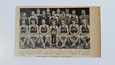 Ohio State Buckeyes University & Chicago of 1927-28 Basketball Team Picture