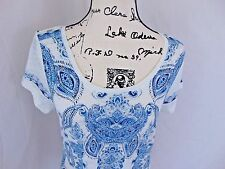 Juniors Women  Lucky Brand M Top Perfect with Jeans NWT