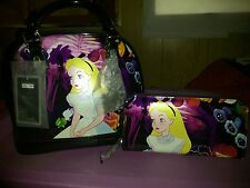 Loungefly Alice In Wonderland Limited Edition Purse 350/1500 , Wallet and Bow's
