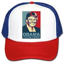 Donald Trump OBAMA YOU'RE FIRED HAT 2016 Republican Adjustable Cap