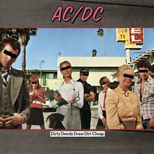 AC/DC CD - DIRTY DEEDS DONE DIRT CHEAP [REMASTERED](2003) - NEW UNOPENED