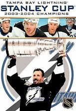 Stanley Cup 2003-2004 Champions (DVD, 2004) Tampa Bay Lighning  NEW