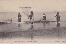 CPA  --  LE PORTEL   PECHEUSES DE CREVETTTES   CIRCULEE EN 1904   258.C