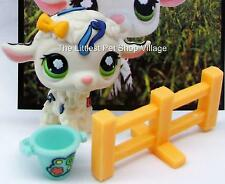 ☀ LITTLEST PET SHOP ☀ WHITE CONFETTI LAMB #1068 ☀ NEW ☀ PRETTY POSTCARD SHEEP ☀