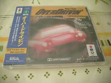 OVER DRIVIN 3DO JAPAN IMPORT BRAND NEW FACTORY SEALED!