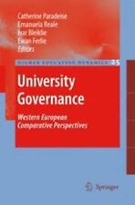 University Governance : Western European Comparative Perspectives 25 (2010,...