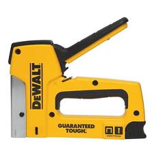 DEWALT Steel Magazine Gauge Heavy-Duty Staple/Nail Stapler Gun Aluminum Die Case