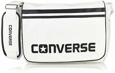 Converse Flap Messenger PU Bag (White)