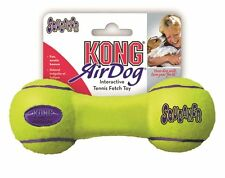 KONG Air Dog Squeaker Dog Toy Size: Large Item Shape: Dumbbell [ASDB1] AOI XTS