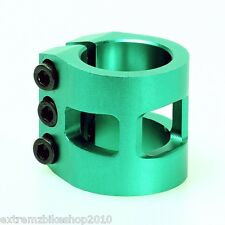 ANAQUDA - SCOOTER TRIPLE CLAMP - PRO SCOOTER CLAMP - STANDARD - 31.8mm - GREEN