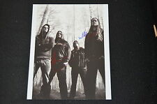 INSOMNIUM signed Autogramm 20x28 cm In Person NIILO SEVÄNEN & MARKUS VANHALA