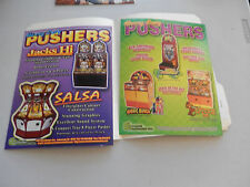 PUSHERS LOT OF 2 HARRY LEVY JUNGLE JIVE IT/SALSA/BIONIC BUNCH   jukebox flyer