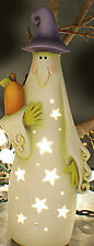 """Ceramic Bisque Ready to Paint Smiley Ghost 9"""" tall ~~~electric included"""