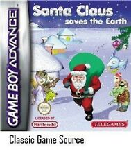 Santa Claus saves the earth for Game boy Advance NEW