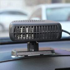 12V Portable Céramique Voiture Ventilateur Chauffage Anti-buée Dégivreur
