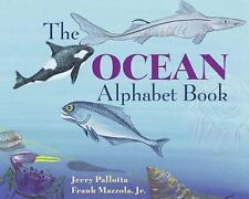 The Ocean Alphabet Book by Jerry Pallotta CHILDRENS AGES 4+ PAPERBACK