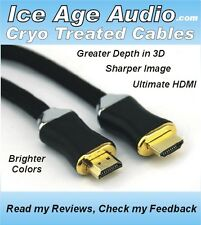 #1-BEST-HDMI-CABLE-EVER-6ft Cryo Treated 99.9% OFC, V1.4, 1080p, 3D, 4K UHD
