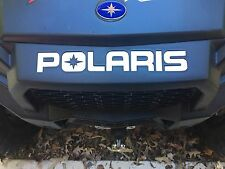 Polaris RZR 900 trail  Front Rear bumper decal inserts Inlays stickers 2015 2016