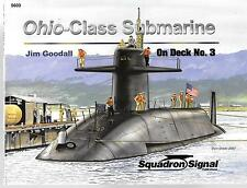 Squadron On Deck Series No. 3, Ohio Class Submarine Soft Cover Ref. FINE 5603 DO