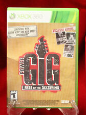 Xbox 360 - Power Gig: Rise of the SixString  (Software Only / 2010)