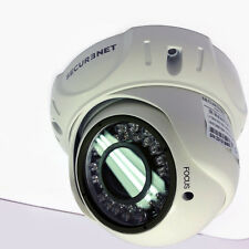 Securenet Pro 700tvl Sony ehnanced Effio-e Exterior Domo Varifocal Cctv Cámara