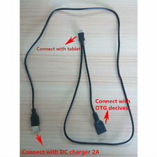 Micro USB OTG Cable Support OTG Host and Tablet Charging FOR Toshiba WT8 Tablet