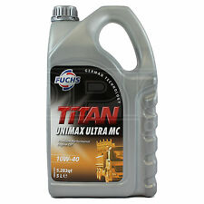 Fuchs TITAN UNIMAX ULTRA MC 10W-40 Full Synthetic Engine Oil 10W40 5 Litres 5L