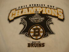 NHL Boston Bruins Hockey 2011 Stanley Cup Champions T Shirt S