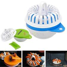 Microwave Apple Fruit Potato Crisp Chip Slicer Snack Maker DIY Set High-Q