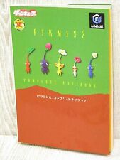 PIKMIN 2 Complete Guide Game Cube Book MW25*