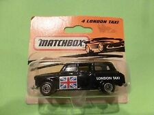 MATCHBOX    - NO= 4  LONDON TAXI   - NEAR MINT IN ORIGINAL BOX