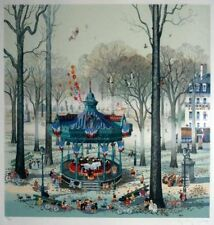 "Hiro Yamagata       ""Concert In The Park""       Serigraph on Paper   BA"