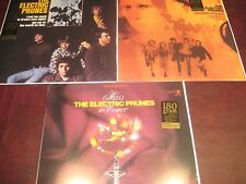 ELECTRIC PRUNES S/T UNDERGROUND F-MINOR 180 GRAM FACTORY LIMITED EDITION 3 LP'S
