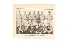 Fort McKinley Team of Manila Baseball & Minneapolis Minnies 1912 Team Picture