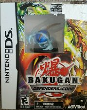 BAKUGAN DEFENDERS OF THE CORE NINTENDO DS w LIMITED FIGURE BLUE CRAB
