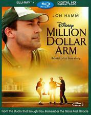 Million Dollar Arm [Blu-ray] 2015 by BUENA VISTA HOME VIDEO Ex-library