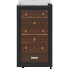 Baumatic BW18BL Free Standing Wine Cooler Fits 18 Bottles Black New