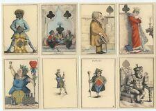 Reproduction Rare Transformation playing cards deck 1851, sealed, new, Germany