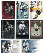 MICHAEL PECA HEMSKY 05-06 SP AUTHENTIC SIGN OF THE TIMES DUAL AUTO & JERSEY CARD
