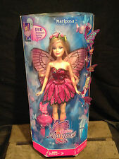 Vintage 2007 Barbie Mariposa and The Fairy Princess Friends Doll, Pink, NIB