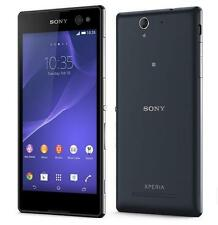 """New Unlocked Sony Xperia C3 Dual D2502 8GB 8MP 5.5"""" Android Smartphone Black"""